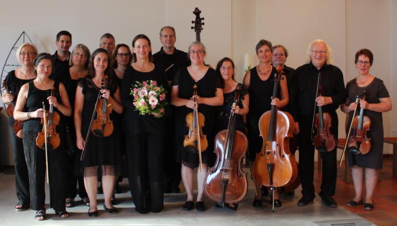 Gruppenfoto Kammerorchester Kaarst_1.7.2018