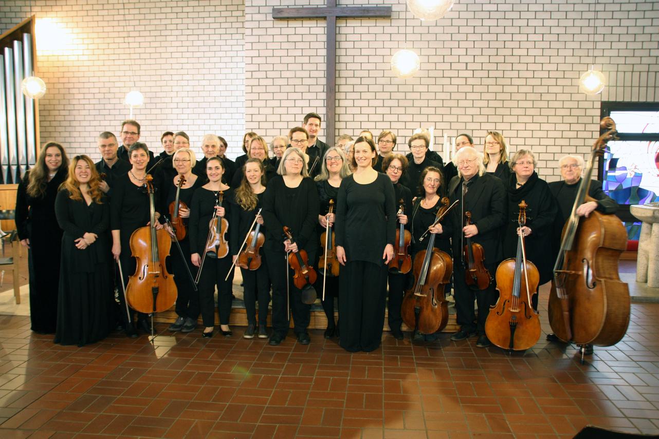 Konzert mit Frauenchor und Solistinnen Erlöserkirche Neuss-Reuschenberg März 2018