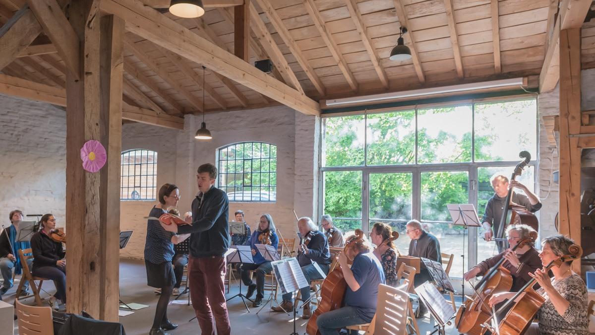 Kammerorchester Kaarst Muttertagskonzert im Tuppenhof am 12.5.2019