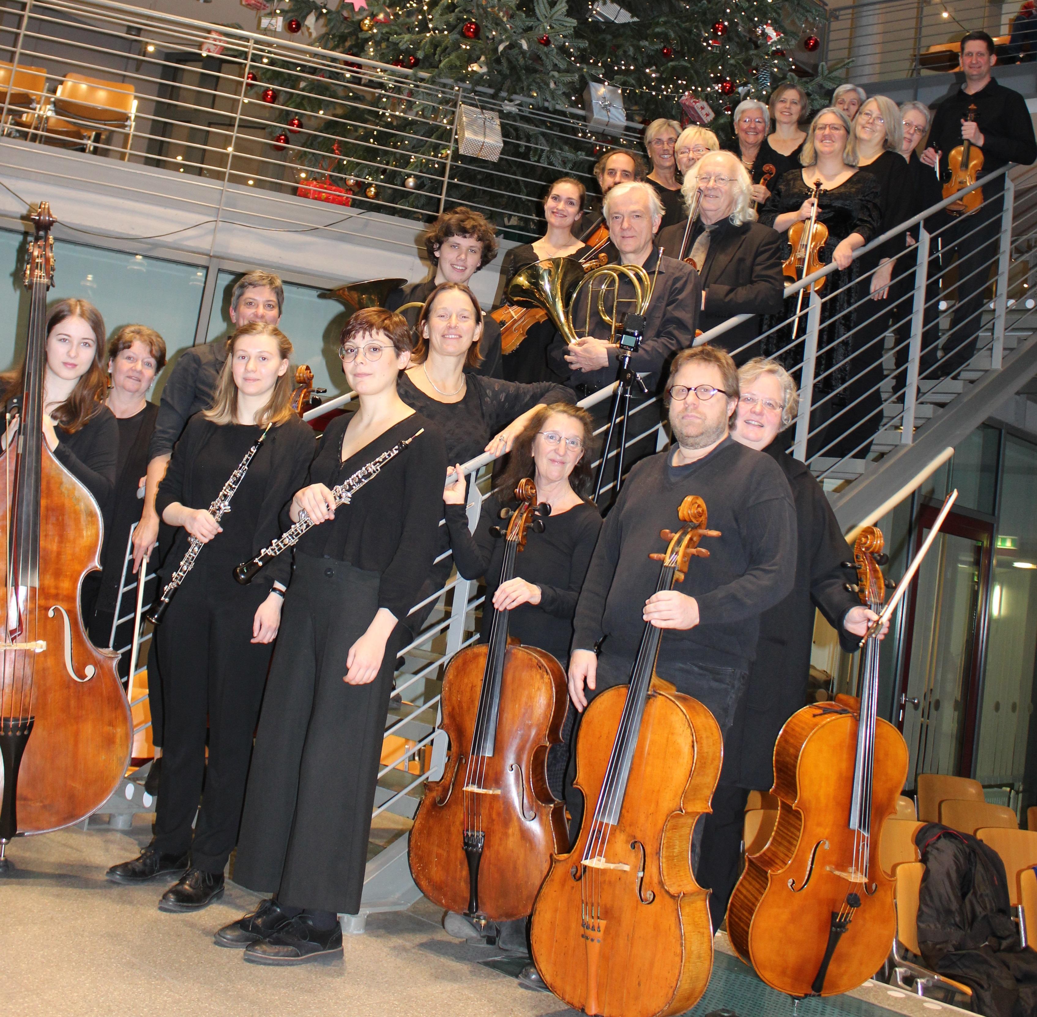 Jubiläumskonzert 30 Jahre Kammerorchester Kaarst Dezember 2019